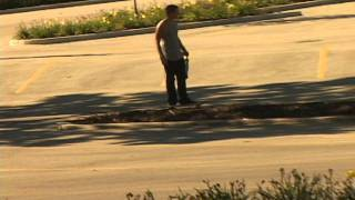 Skateboarder Shits His Pants
