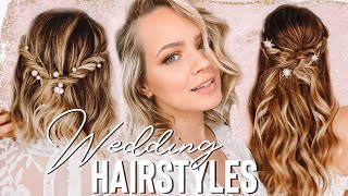 Wedding Hairstyles you can do BY YOURSELF!! - Kayley Melissa