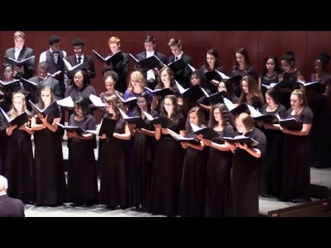 I Would Be True - SVA at Andrews Choir Fest 2016