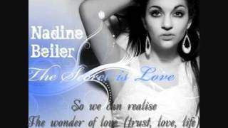 Nadine Beiler - The Secret is Love - lyrics - Austria Eurovision 2011