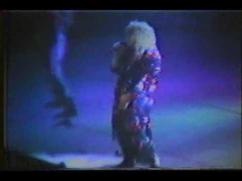 Ozzy Osbourne Shot In The Dark Live 1986 Detroit Youtube