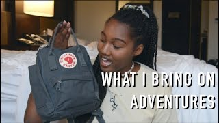 what's in my travel bag // costa rica edition
