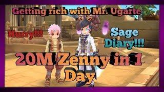 20M Zenny in 1 day| Ragnarok Mobile | Sage Diary
