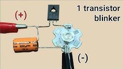 Blinker Mit Einem Transistor