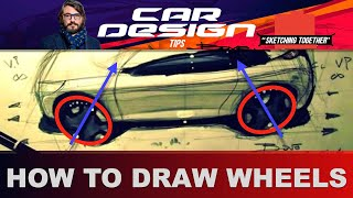 Drawing Cars How to draw ellipses