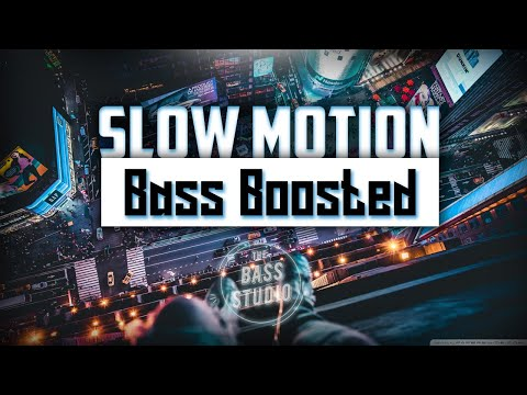 Bharat: Slow Motion [Bass Boosted] Song | Salman Khan, Disha Patani | The Bass Studio