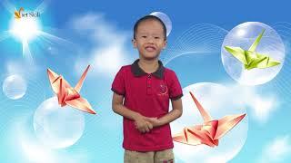 Ghi hình trường quay - MC Gia Bảo - Lớp MC nhí N15 Đông Anh