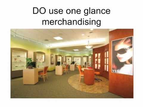 optical office design secrets 2 one glance merchandising youtube