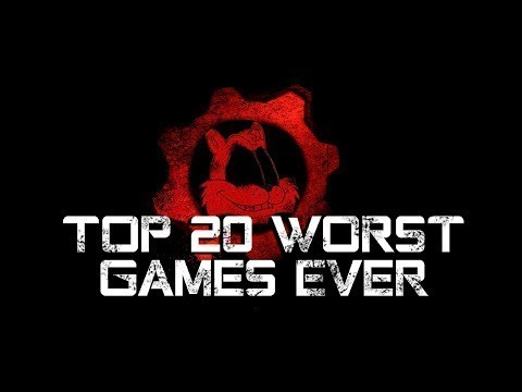 The Top 20 Worst Games EVER