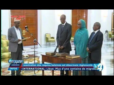 Télé Djibouti Chaine Youtube : JT Francais du 02/01/2018