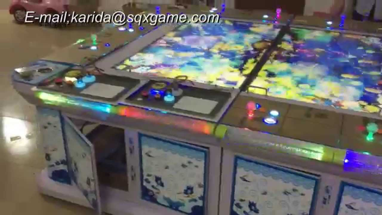 2015 indoor arcade amusement igs shark king legend catch for Arcade fish shooting games