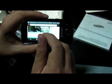 Samsung B7300 OmniaLITE Review HD - www.TelefonulTau.eu -