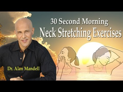 30 Second Morning Neck Stretching Exercises (Most Effective) - Dr Mandell