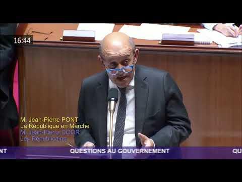 QAG à Jean-Yves LE DRIAN au sujet de la perspective d'un Brexit sans accord