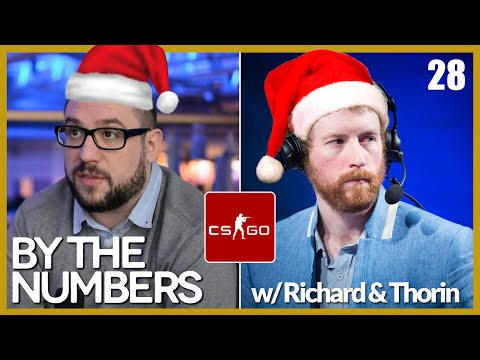 [E28] By The Numbers: CS:GO with Richard Lewis and Thorin | Alphadraft Podcast Episode 28