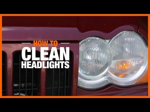 How to Clean Headlights | DIY Car Repairs