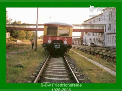 Hilfsgerätezug S-Bw Friedrichsfelde S-Bahn Berlin
