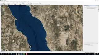طريقة الاقتطاع من خريطة باستخدام برنامج GIS Clip Analysis using ArcGIS Desktop