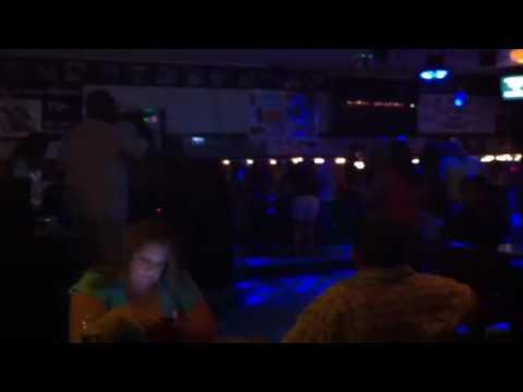 Karaoke at Hagar bar.