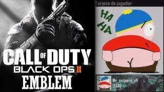 Black Ops 2 // Eric Cartman Emblema (tutorial) (Speed Art)