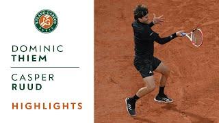 Dominic Thiem vs Casper Ruud - Round 3 Highlights I Roland-Garros 2020