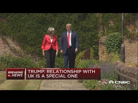 Trump to May: Whatever you do with Brexit is OK