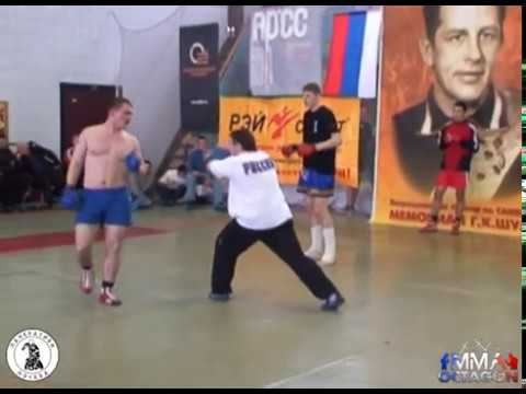 Александр Волков на Чемпионате Москвы по панкратиону 2008г
