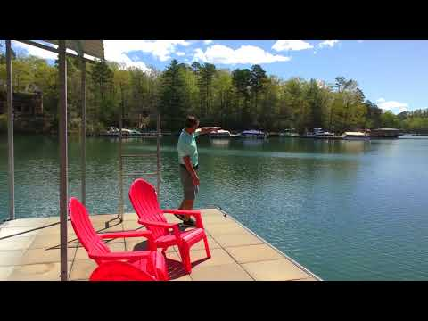 Full Video 545 Piney Cove Lane Cliffs at Keowee Falls North Waterfront home Mike Matt Roach Top Guns