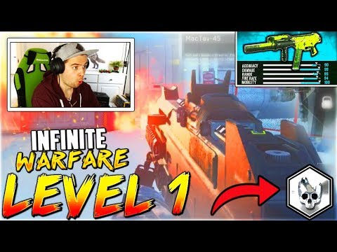 """""""BACK TO LEVEL 1!"""" - Call of Duty Infinite Warfare in 2018..."""