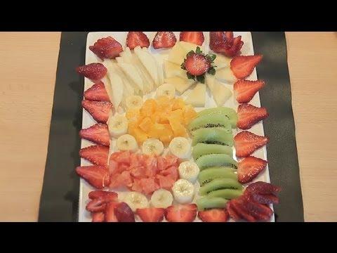 Como preparar um prato combinando as frutas ideias para for Decoracion de frutas para fiestas infantiles
