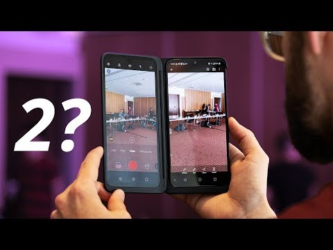 The LG G8X has TWO displays?? ..sort of