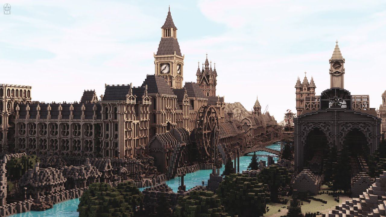 Minecraft Cinematic The Old London By ElysiumFire