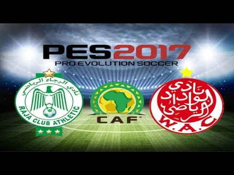 PS4 PES 2017 Gameplay Raja Casablanca vs Wydad Casablanca HD