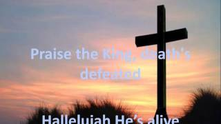 PRAISE THE KING BY COREY VOSS -  LYRIC VIDEO