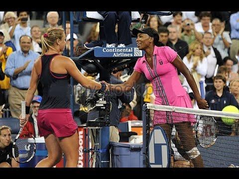 Venus Williams vs Vera Dushevina 2009 US Open Highlights