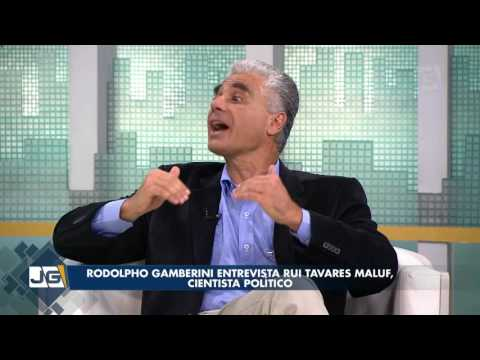 Rodolpho Gamberini entrevista Rui Tavares Maluf, cientista político