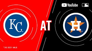 Royals at Astros  MLB Game of the Week Live on YouTube