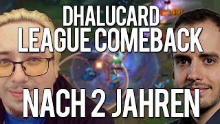 League Comeback nach 2 Jahren! | Durchgelacht mit Dhalucard