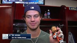 Myers gives thoughts on his own bobblehead
