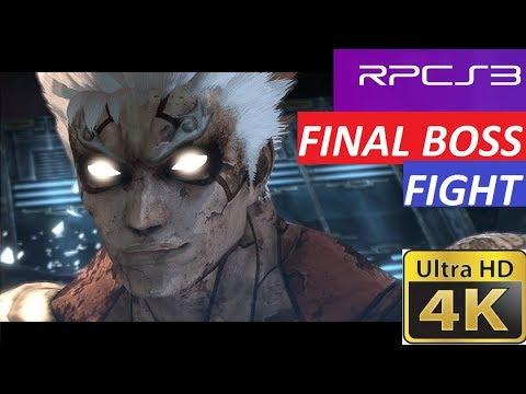RPCS3 Asura's wrath Asura and Yasha vs Vlitra core final boss fight