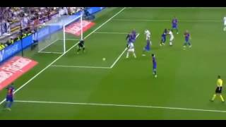 James Rodriguez's Goal Real Madrid vs Barcelona 2-2