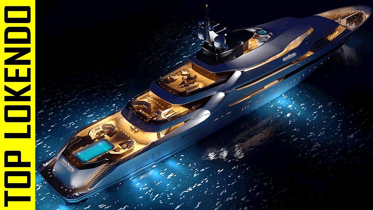 5 mega yates de lujo mas caros y lujosos youtube for Yates de lujo segunda mano