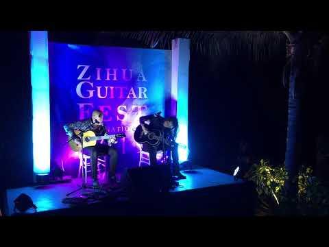 Eric McFadden & Omar Torrez At The Zihuatanejo International Guitar Festival 2019