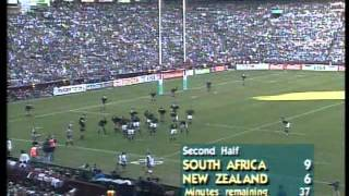 Rugby World Cup 1995  New Zealand vs South Africa