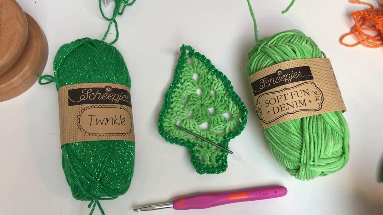 Haak Tutorial Kerstboom Hanger Haken Christmas Crochet Youtube