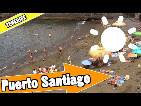 Puerto de Santiago Tenerife Spain: Beach, resort and nightlife