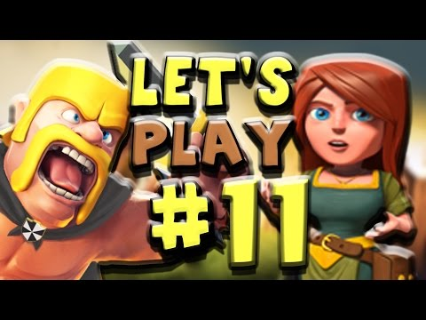 Clash of Clans | Let's Play Episode #11 - Maxing Walls & New Base!