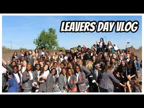 Last EVER Day of School/College | ISSA LEAVERS VLOG