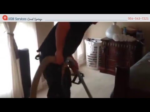 Carpet Cleaning Coral Springs - We Deliver Quality!