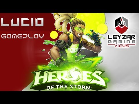 Heroes of the Storm (Gameplay) - Lucio Meta Build (HotS Lucio Gameplay Quick Match)
